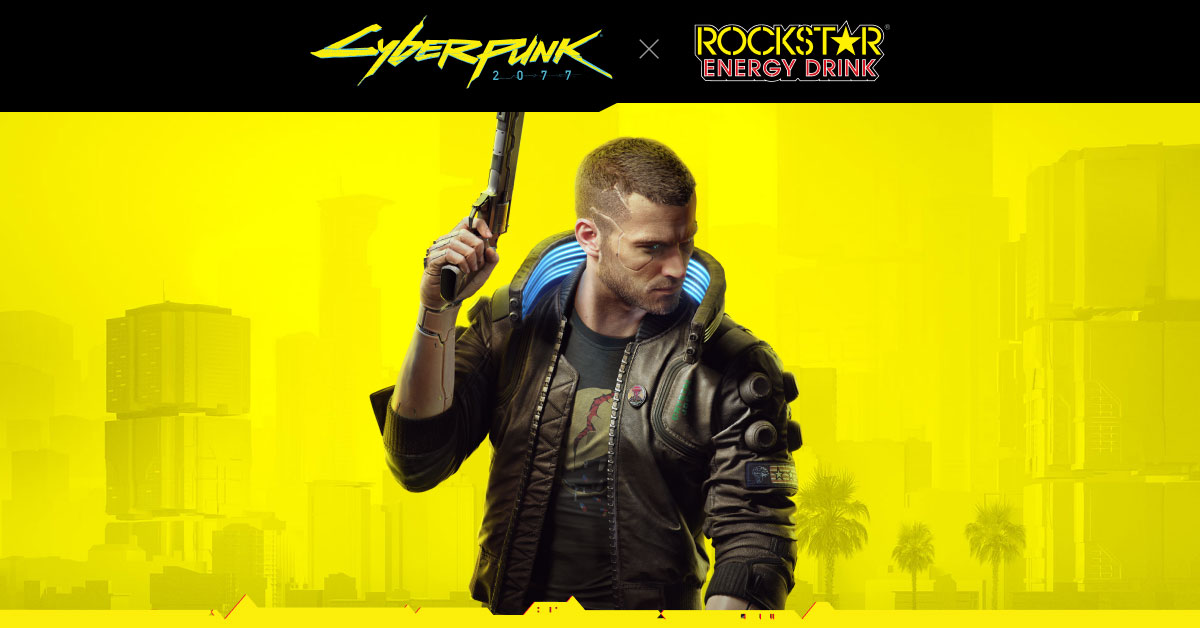 Rockstar Can Tab Samurai Cola Digital Code Cyberpunk 2077 -Limited Edition